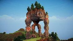 minecraft magic build at DuckDuckGo Casa Medieval Minecraft, Minecraft Statues, Minecraft Structures, Minecraft Mansion, Minecraft Castle, Minecraft House Designs, Minecraft Creations, Minecraft Buildings, Plans Minecraft