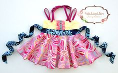 Little lizard king : Smart Fit Ellie Roundabout Top & Dress -----> 6M/8Y