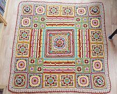 Demelza Crochet Blanket by Catherine Bligh