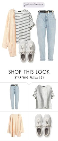 """""""Sem título #34"""" by signofthetimesx ❤ liked on Polyvore featuring River Island and adidas Originals"""