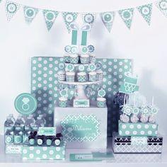 party decorations diy blue birthday party theme party kit tiffany blue tiffany party