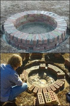 We found another great way to make your own fire pit for your backyard! Is this going to be your next project?