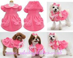 Pink Princess Dog Coat