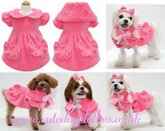 Pink Princess Dog Coat