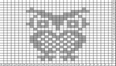 Tricksy Knitter Charts: Owl (78671)