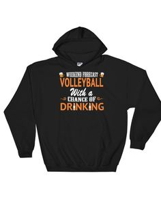 Weekend forecast volleyball – Hoody