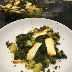 #veggie #kale #grünkohl mit/with #potatoes #kartoffeln #feta