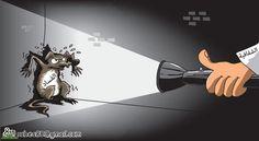 كاريكاتير صحيفة عكاظ (السعودية)  يوم الثلاثاء 17 مارس 2015  ComicArabia.com  #كاريكاتير