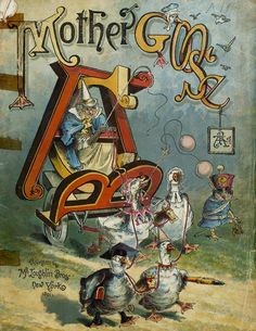Mother Goose ABC, New York: McLoughlin Bros., c1891. Cover and illustrations by Richard André.