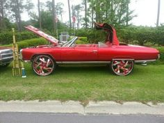 KingPinner BobbyGinnings Custom Truck Beds, Custom Trucks, Custom Cars, Classic Auto, Classic Cars, Donk Cars, School Car, Car Man Cave, Vanz