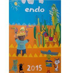 Kalendarz Endo na 2015 rok. Przepiękny, kolorowy kalendarz ścienny na 2015 rok z wykorzystaniem grafik stworzonych przez artystów Endo oraz naszych małych, zdolnych Przyjaciół – Dzieci, które nadesłały swoje prace z całej Polski! Każda z prac znalazła - większe lub mniejsze - miejsce w naszym kalendarzu.Z każdą sprzedaną sztuką kalendarza 2015 przekażemy miękką, ciepłą, kolorową koszulkę Endo jednego z trzech domów dziecka. Children, Kids, Books, Young Children, Young Children, Boys, Boys, Libros, Book