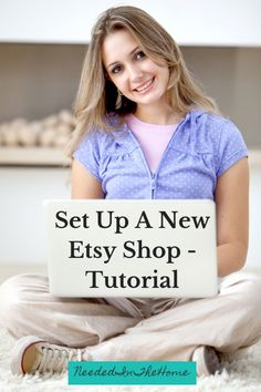 How To Start An Etsy Shop - Thinking of setting up a new Etsy shop? Check out these tips with a step by step tutorial to get your shop set up today. #etsycraftsite #sellingonetsy #etsyshop #etsy #etsy.comshop #etsystartup #NeededInTheHome How To Start A Blog, How To Make Money, Etsy Co, Raising Godly Children, Craft Sites, Busy At Work, Home Based Business, Working Moms, Parenting Hacks