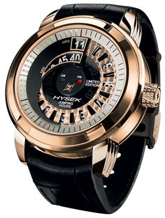 Hysek Jumping Hour Gold Time Piece.......