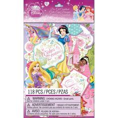 EK Success Disney Princess Cardstock DieCuts 118/Pkg