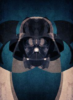 STAR WARS and STREET FIGHTER Geo Pattern Pop Art — GeekTyrant