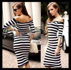 ❤️ b&w Dress ❤️