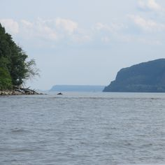 Sailing on the Hudson River from Croton-on-Hudson, NY