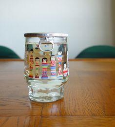 六花酒造 こけしワンカップ, パッケージ, Japanese sake, package