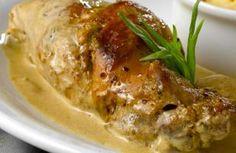 Lapin à la moutarde: recette Lapin à la moutarde, aftouch-cuisine