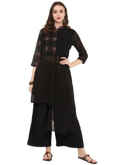 Appear stunningly pretty in this black georgette designer kurti. The embroidered work appears to be like chic and best for casual and party. (Slight variation in color, fabric & work is possible. Model images are only representative.) Latest Kurti Design HAPPY INDEPENDENCE DAY - 15 AUGUST PHOTO GALLERY  | 1.BP.BLOGSPOT.COM  #EDUCRATSWEB 2020-08-12 1.bp.blogspot.com https://1.bp.blogspot.com/-qjTWIPto5d8/W3N6EF_ZkQI/AAAAAAAAAe8/00fcwiT3EjgpGlGAI7dfVVqd3LgLfYigwCLcBGAs/s640/Independence-Day-GIF.gif