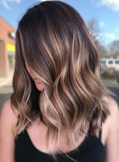 29 Fresh Coffee Brown Hair Color Ideas for 2018