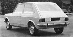 OG | 1971 Zastava 101 - Project X1/1 | Three-door fastback prototype based on Fiat 128, dated 1968