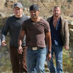 On the Run with these two  #TBT to season 2 #Prison Break #funtimes #Blessed…