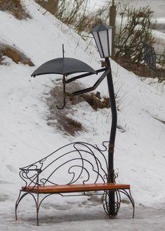 I don't care for the park bench.but the rest is sooo cute I don't care for the park bench.but the rest is sooo cute The post I don't care for the park bench.but the rest is sooo cute appeared first on Garden Diy. Garden Art, Garden Design, Outdoor Living, Outdoor Decor, Indoor Outdoor, Land Art, Public Art, Wrought Iron, Metal Art