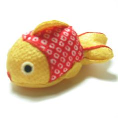 ちりめん金魚(1匹) - 和雑貨 はいからさん