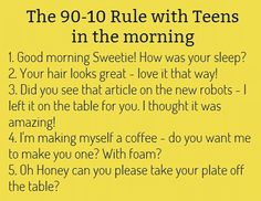 parent and teenager relationship quotes