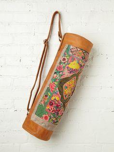 YogaMat vintage bag want want want!!!!!!