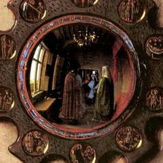 The Road to Van Eyck   ARTtube. Video. The Arnolfini Portrait. Jan van Eyck. c. 1434 C.E. Oil on wood. Ap Art History 250, History Images, Jan Van Eyck, The Arnolfini Portrait, Ghent Altarpiece, Art Van, Arts Ed, Famous Art, Classical Art