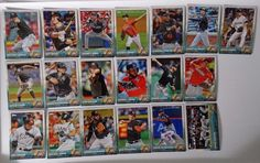 2015 Topps Series 1 & 2 Miami Marlins Team Set of 19 Baseball Cards #topps #MiamiMarlins