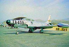 USAF Lockheed F-94B Starfire of the 319th FIS.