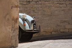"Citroen 2CV - one of the most fascinating cars of the ""average men"". Build in France from 1949 till 1990."