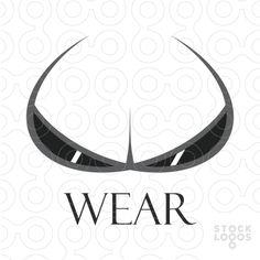"""Wear"" is a fully layered logo template, especially designed for your eyewear, sunglasses or bikini, bra, underwear design products.  http://stocklogos.com/logo/wear#"