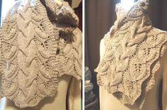 Knitted Cloudborn Vine Scarf [FREE Knitting Pattern]