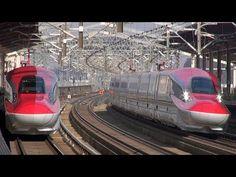 E6系『スーパーこまち』走行シーン集 ~東北新幹線で試乗会開催~-Japanese trains