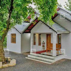 #BudgetHouse #CostEffective #DreamHome #Homestyle 19 ലക്ഷത്തിനു സൂപ്പർ വീട്! ഒപ്പം ഒരു ഗുരുദക്ഷിണയും; പ്ലാൻ... Village House Design, Kerala House Design, Village Houses, Small House Design, Modern House Design, Beautiful House Plans, Modern House Plans, Small House Plans, Kerala Traditional House