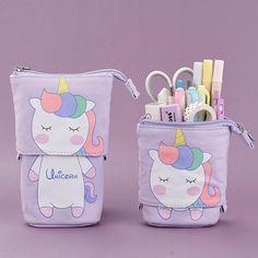 Big Pencil Cases, Cute Pencil Pouches, Pencil Boxes, Pencil Cup, Cute Pencil Case, Pencil Holders, Pencil Case Pattern, Unicorn Pencil Case, Stationery Items