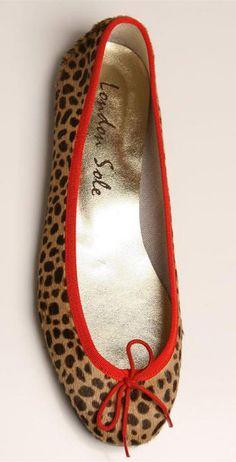 London Sole Leopard ballerinas, size 39. 60 euros. SOLD!