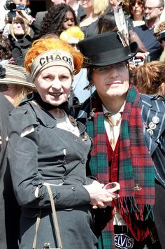 Adam Ant arrives at the funeral of Malcom McLaren in North London on April 22, 2010 in London, England. The man, often called the 'architect of punk', died of cancer at the age of 64 earlier this month.