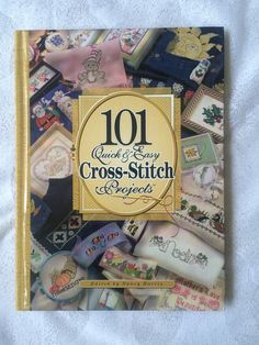 101 Cross Stitch Projects, Quick and Easy Cross Stitch Patterns by EllieMarieDesigns on Etsy