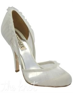 perfect wedding shoes <3