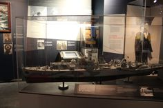 Canadian Navy destroyer from World War Two...