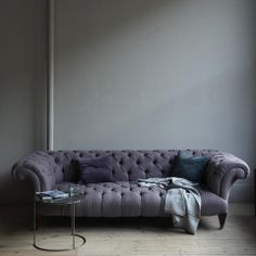 The New Victorian Ruralist: CANVAS...  Chesterfield Sofa by Canvas