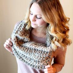 DIY Crochet Infinity Scarf freebie, thanks so xox ☆ ★   https://www.pinterest.com/peacefuldoves/