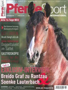 Pferdesport International Heft 20 Exklusiv-Interview mit Breido Graf zu Rantzau & Soenke Lauterbach