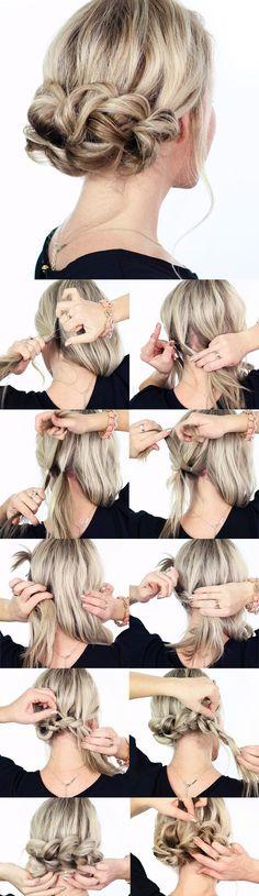 E quem não ama aprender um penteado diferente, hein? #hair #hairstyle #diy…