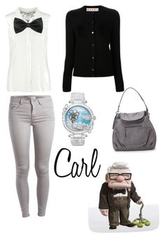 """Carl"" by krusi611 ❤ liked on Polyvore featuring Vero Moda, Pieces, Marni, Galtiscopio and Madden Girl"